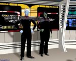 Command of the Crusader by TrekkieGal