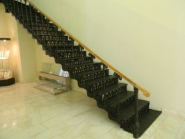 forged stairs by Allaniya