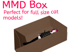 MMD- Huge box by vkunicorn