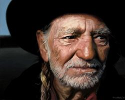Willie Nelson by annableker