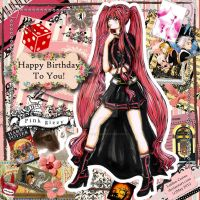 Contest:Mishna as Exorcist Happee Bday to Gizzy by Laiden-Cerise