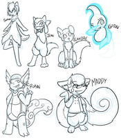 PMD. Stream Doodles p12 by Hawkein