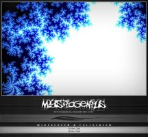 Blue Mandelbrot Series1 Part4 by MysticGenius