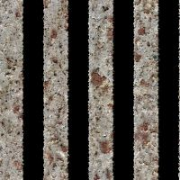Seamless Metal Rusted Bars by hhh316