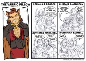 DA - The Varric Pillow by aimo