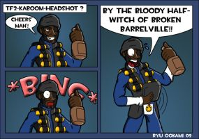 TF2 - Kaboom Headshoot by Blue-Dreamcatcher