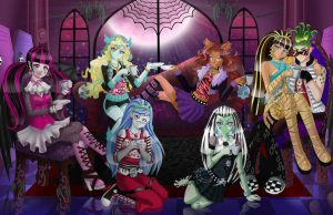 Tea Time--Monster High by legend654