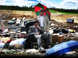 Suits in a Landfill - 002 by PxRxSxRx
