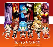 .:TN White Side Chibis:. by isshi