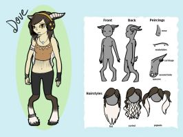 Dove -Reference- by TheFrymon