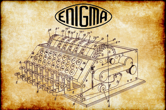 The Enigma Machine by Alphatron99