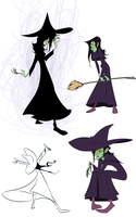 More Elphaba by Ryan-Cole