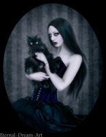 Gothic portrait by Eternal-Dream-Art
