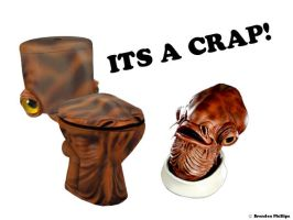 Admiral Ackbar toilet by bmansnuggles