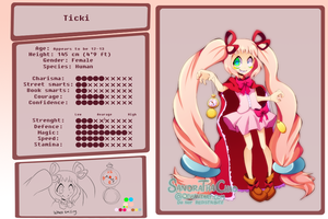 Ticki Reference by Sandette