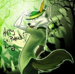 HAPPY ST. PATRICKS DAY by ZenirixWolf