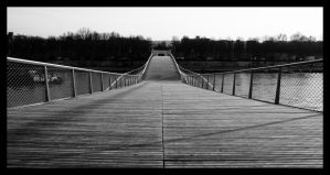 Passerelle Simone De Beauvoir by sylphire