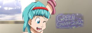 DBZ bulma tentacle. (FULL VERSION ON TUMBLR) by greengiant2012