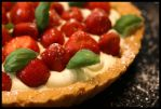 Strawberry Tart by vesparia