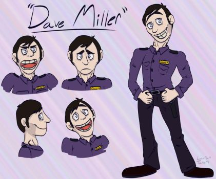 Dave Miller by VictoriaLolo