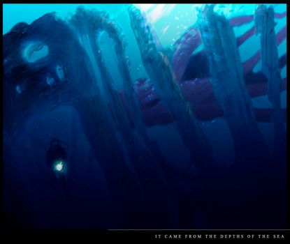 from the depths of the sea by D4ME
