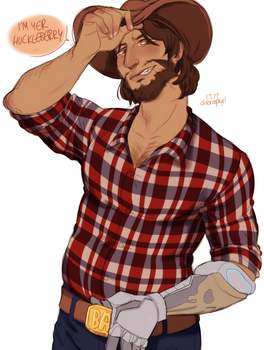 mccree by chloroophyll