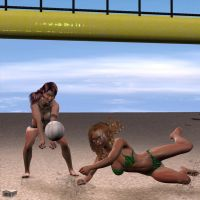 Volleyball 3 by Athenion