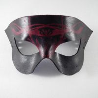 Mystical Swirl Leather Mask by Shadows-Ink