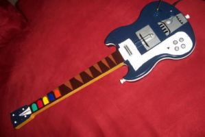 flcl guitar by sugarstick