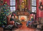 Gryffindor Common Room by thanhmajtran