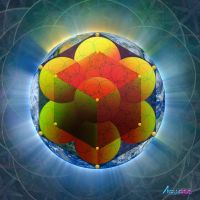 Metatrons Cube by AVAdesign