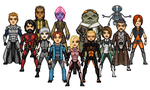 KOTOR 3 Crew, version 1 by SpectorKnight