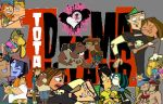 total drama Couples by xCxD12xTDIx