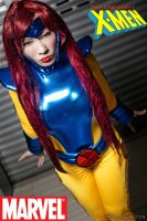 Uncanny XMEN Jean Grey by chenmeicai