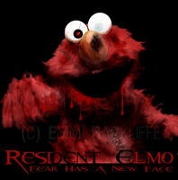 Resident Elmo by Lostprincessofoz