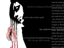 Science Nerd Heartache. part1 by sacredthisfever
