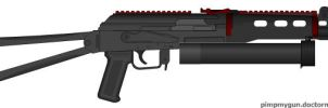 PP-19 Bizon SMG by Lord-DracoDraconis