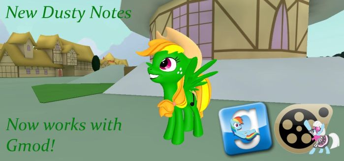 (DL) Dusty Notes (reupload) by Out-Buck-Pony