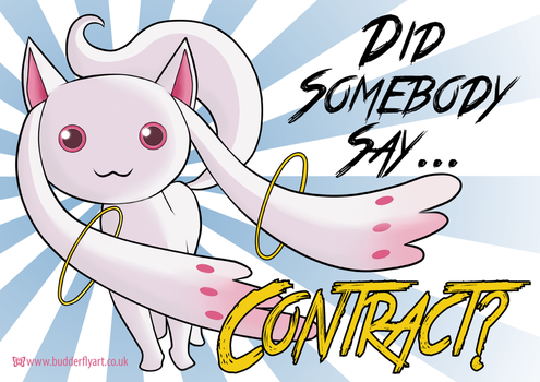 Did somebody say...CONTRACT? by TattyBudderfly