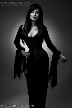 Morticia: The Addams Family by EveBeauregard