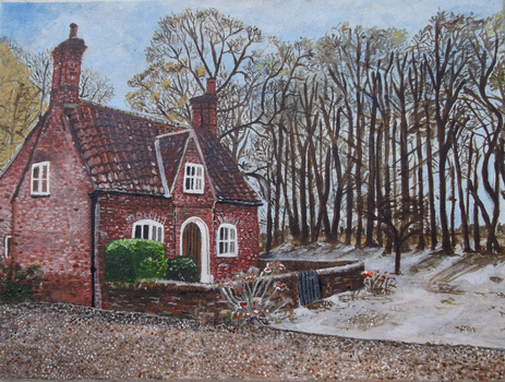 English Cottage by byron7