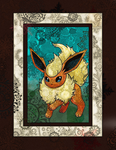 The Flareon by Macuarrorro