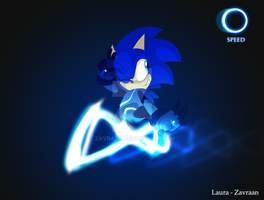 Future Sonic - speed by zavraan
