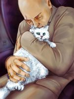 Blofeld: Cats are a villain's best friend by MadMoro