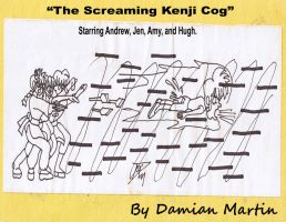 The Screaming Kenji Cog by RPGFamily