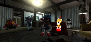 Sonic.Exe hanging out with friends and victims by jayemeraldover9000x