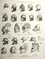 Project WARRGH - Medieval European Helmet part 1 by Gambargin