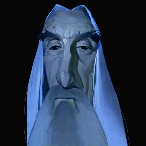 RIP Christopher Lee by MaxGrecke