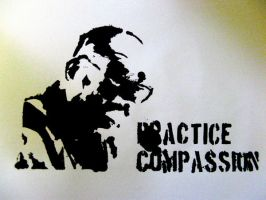 Practice Compassion by ducksXsayXmoo