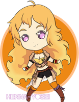 Yang Xiao Long by Chi-nna